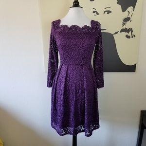 Purple Lace Dress L & XL (NWT)